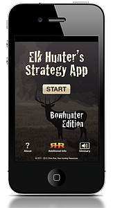 Elk Hunter's Strategy App for Apple and Android Devices