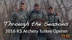 2016 Season Opener - Kansas Rio Grande Turkey Hunting